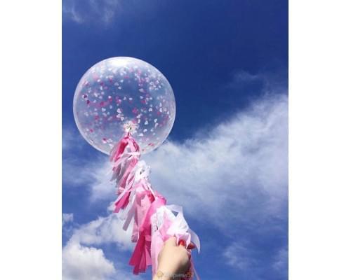 Большой шар с конфетти Мечты сбываются