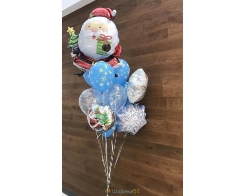 Букет из шаров Дед Мороз