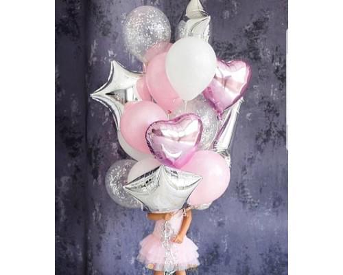Букет из шаров Маленькая принцесса