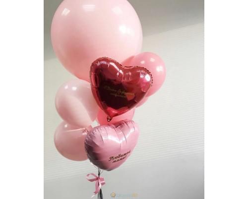 Букет из шаров на 8 марта Любимой Маме