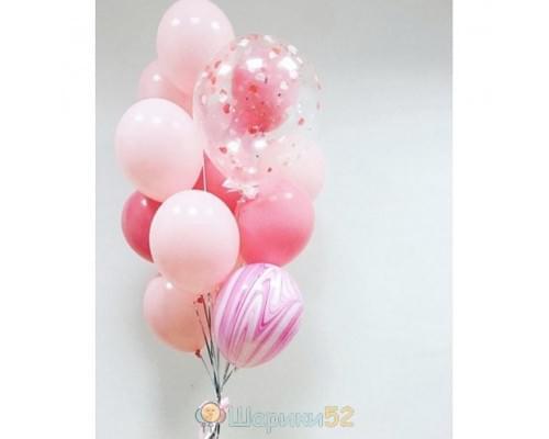 Букет из шаров Розовое настроение