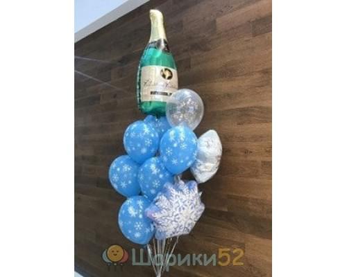 Букет из шаров Шампанское