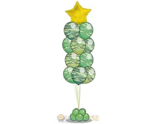 Фонтаны из шаров для мужчины
