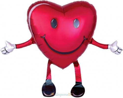 Ходячий шар сердце