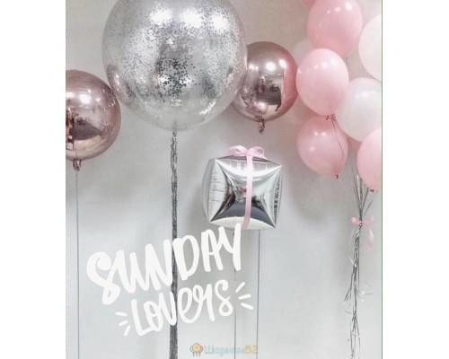 Набор воздушных шариков «Подарок для принцессы»