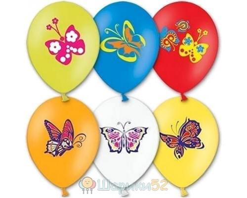 Облако шариков Бабочки 25 шт