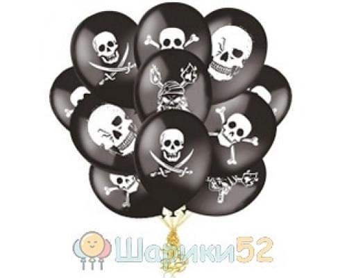 Облако шаров Пираты 15 шт