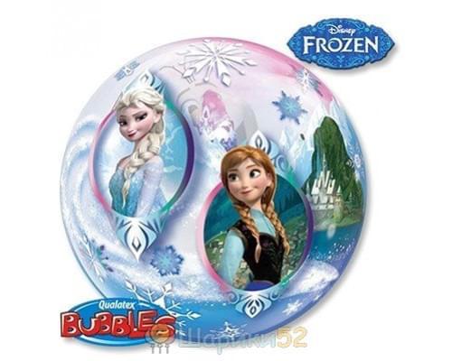 """Шар BUBBLE 22"""" Disney Холодное сердце"""