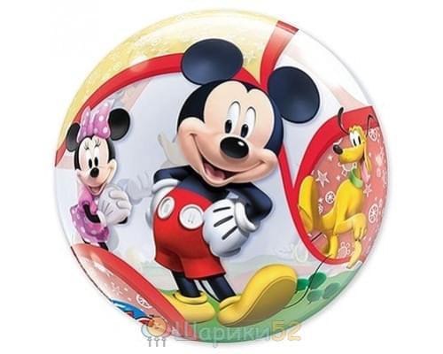 """Шар BUBBLE 22"""" Disney Микки и его друзья"""