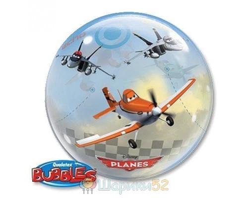 "Шар BUBBLE 22"" Disney Самолеты"