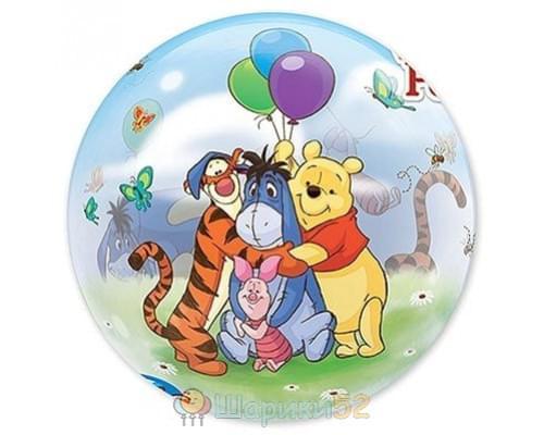 "Шар Bubble 22"" Disney Винни и друзья"
