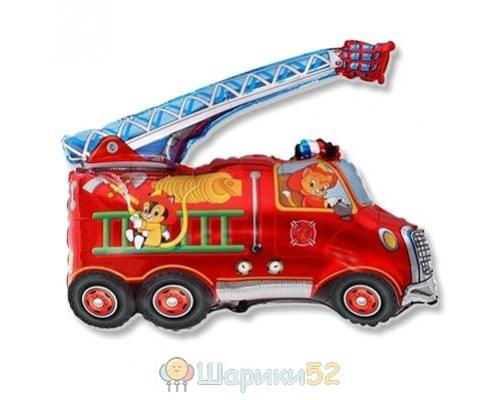 Шар фигура Машина пожарная