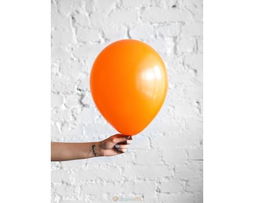 Шар оранжевый матовый