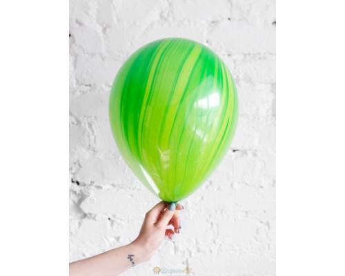 Шар Супер Агат Green зелёный