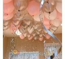Шары под потолок на Ванильные Грёзы 35 см, 25 шт