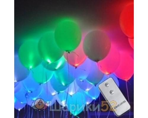 Светящиеся шары с пультом 25 шт
