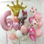 Воздушные шары на День Рождения девочки