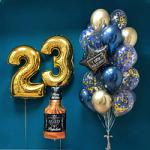 Воздушные шары на День Рождения мужчины