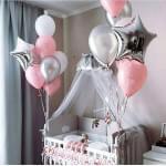 Воздушные шары на Рождение ребенка